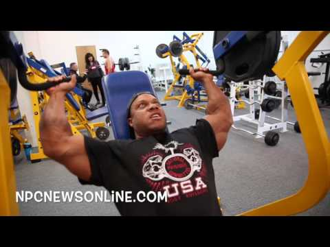 6-Time Mr.Olympia Phil Heath: 2017 Workout From The NPC Photo Gym