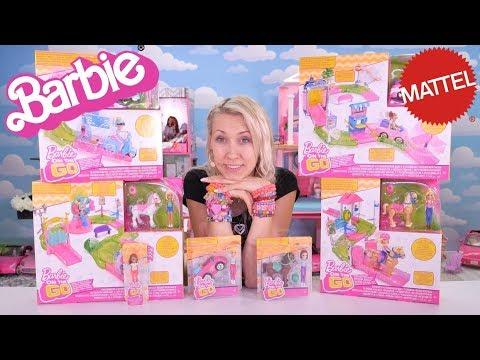 Barbie On The Go! 🎉 Nowość 2018 🎉 Mega olbrzymi tor! Openbox Mattel z lalkami Doolls