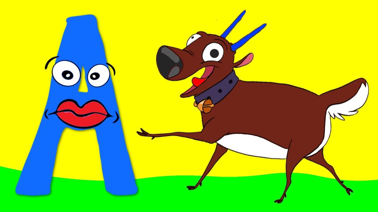Learn the Alphabet Animals - Letter A - ANTELOPE