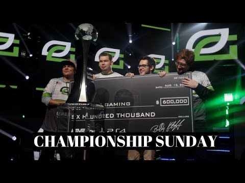 CHAMPIONSHIP SUNDAY! - I Meet FaZe Doug Censor Martin - OpTic v.s NV Grand Finals - S1 Ep.19