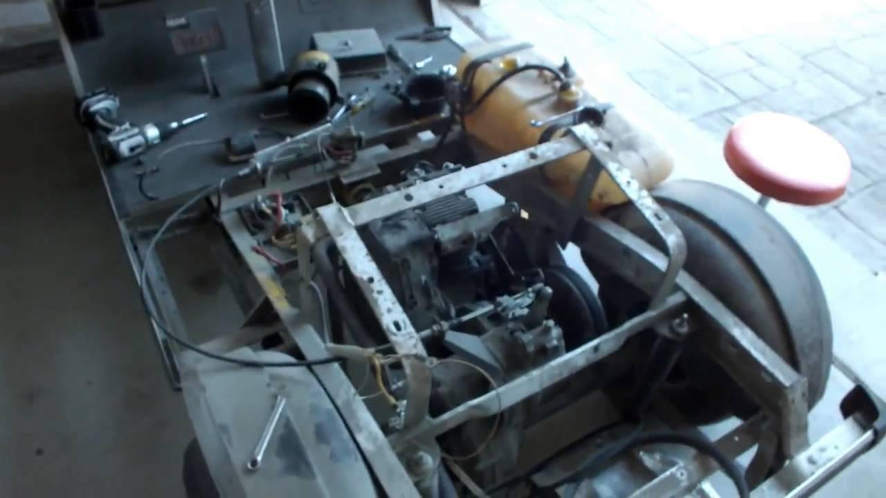 Club Car GX420 Engine Swap: Teardown
