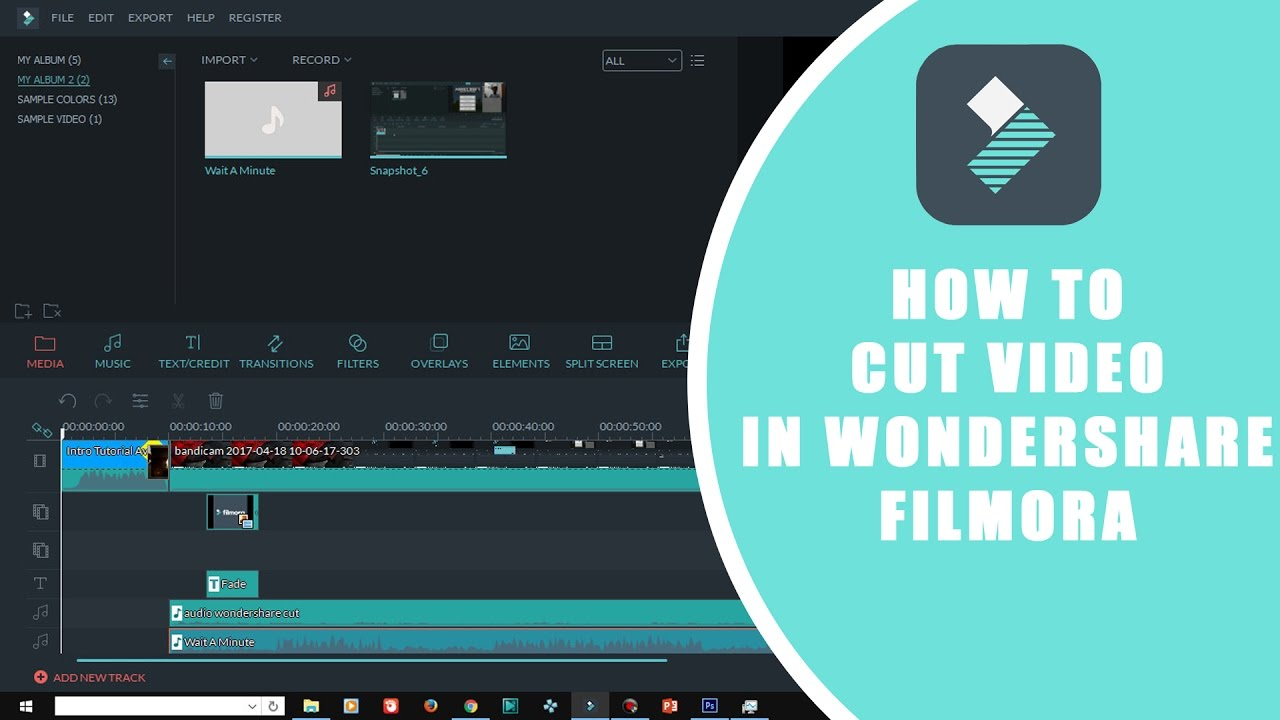 how to cut video youtube