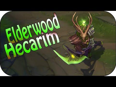 Elderwood Hecarim - Skin Spotlight - Skin Vergleich