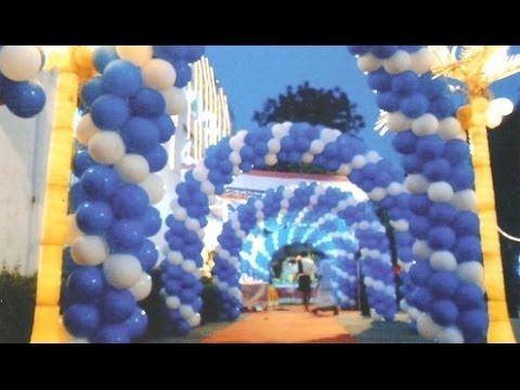 Indian Wedding Balloon Decoration Youtube