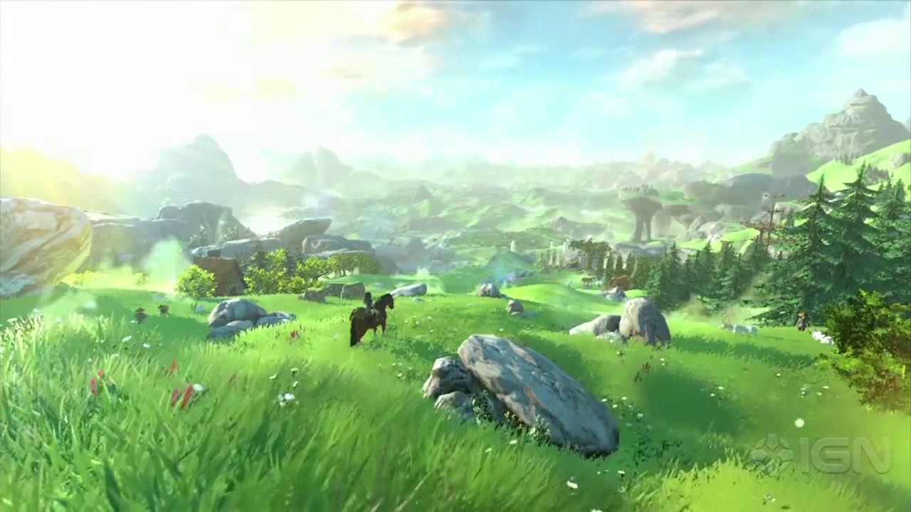 Zelda Botw Video Wallpaper Background Youtube