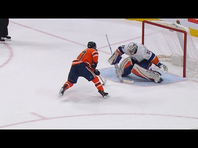 Connor McDavid makes gorgeous deke for shootout winner