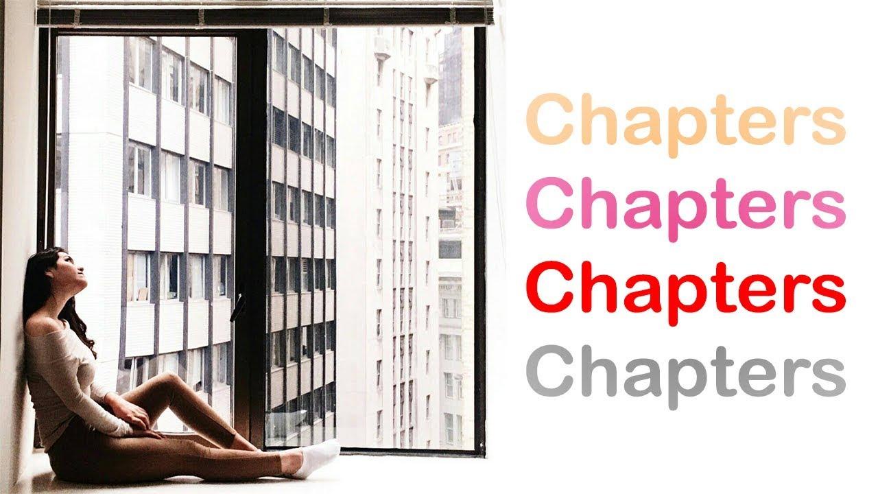 Chapters (AGA- Wonderful U Demo Version) English music video (parody student film)