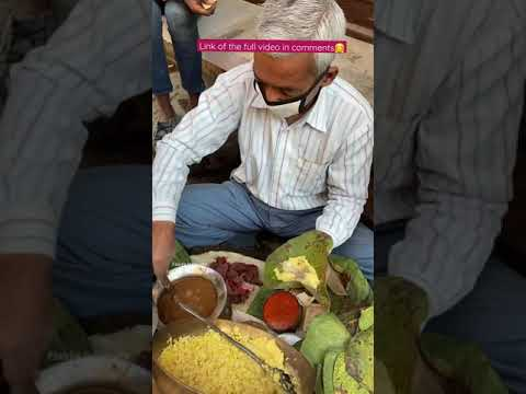 Surja Ki Mashoor Dal🤩🤩 Most Eco Friendly Food❤❤ #streetfood #haridwar #rishikesh #shorts