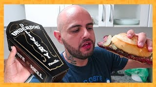 COMO É O BURGER E O CHORIPAN DO UNDERDOG   PROVANDO DELIVERY's