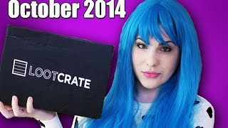 Unboxing My Loot Crate!   October 2014 Edition + One Month Subscription Giveaway!