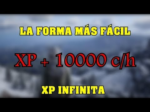 Red Dead Redemption 2 Online - XP INFINITO GLITCH *NUEVO* / PS4 thumbnail