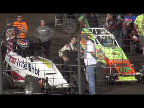 Iowa Sprint Car League Driver Interview Pepsi Lee County Speedway 9/14/19