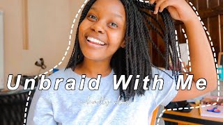 Unbraid With Me! ✂️ | South African YouTuber