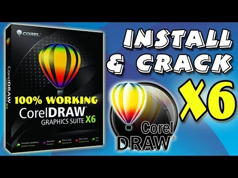 How To Install And Activate Corel X6 || Life Time Crack || 2019