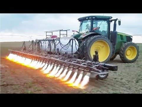 Amazing Modern Agriculture Machine Tractor in Action - Lates