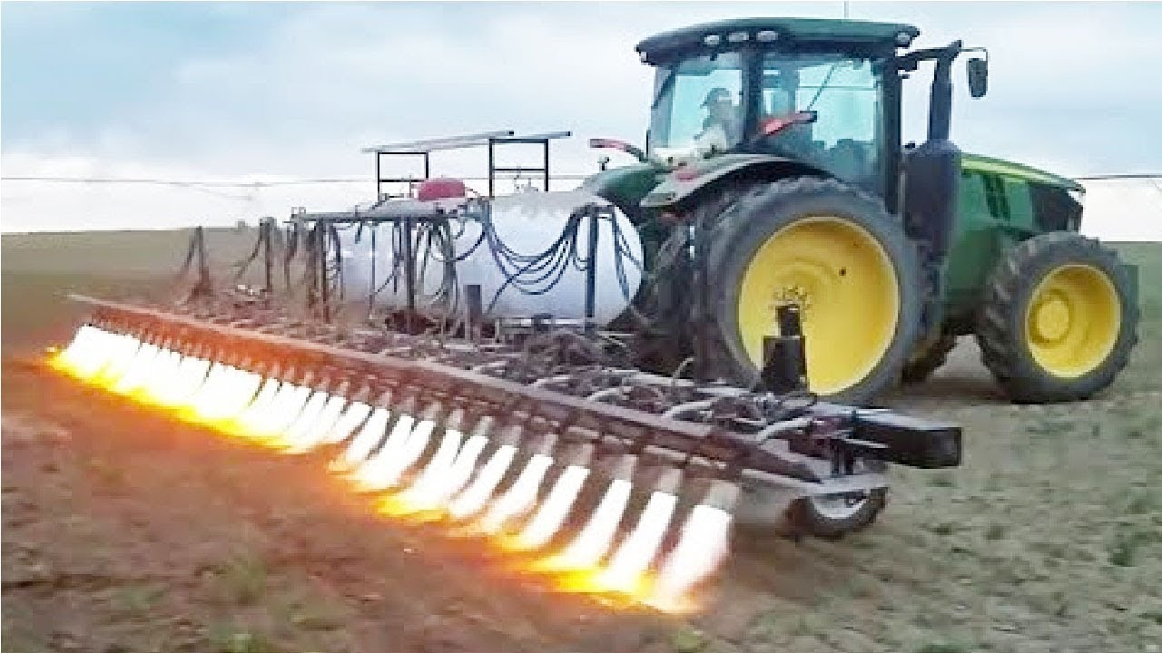Amazing Modern Agriculture Machine Tractor in Action - Latest ...