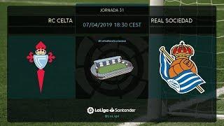Calentamiento RC Celta vs Real Sociedad