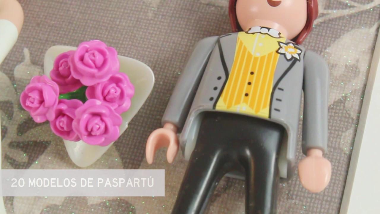 Cuadro con novios de Playmobil - YouTube