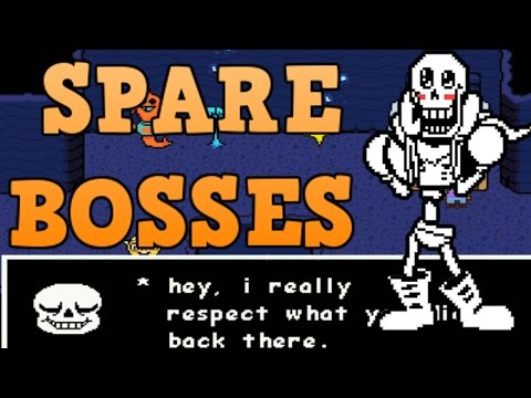 "[SPOILERS] Undertale ""Spare Bosses"" Genocide Changes"