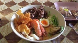 Обжор на настоящий суп Том Ям Кунг за 90 бат! Остров Пхукет, пляж Патонг январь 2016 года