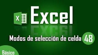 Como seleccionar celdas en Excel - Capítulo 48