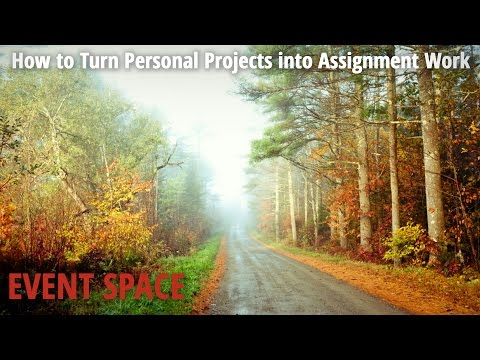 How to Turn Personal Projects into Assignment Work