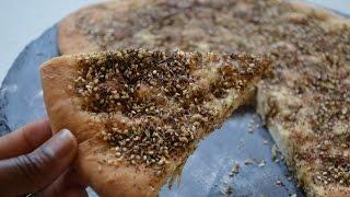 How To Make Zaatar & Flat Bread