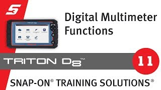 Digital Multimeter: TRITON-D8™ (Pt 11/13) | Snap-on Training Solutions®
