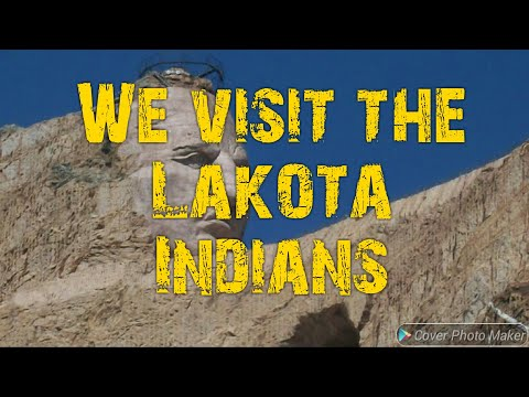We Visit The Lakota Indians Of S.Dakota
