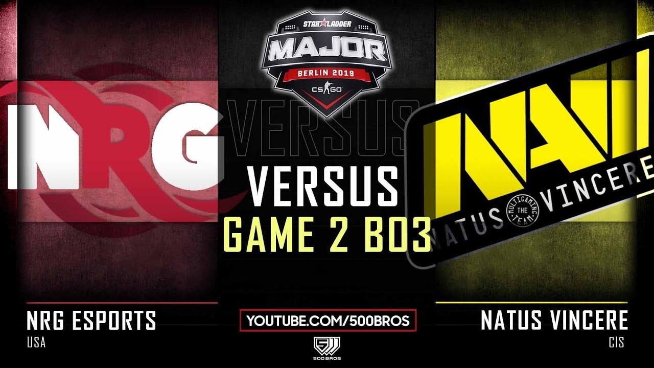 NAVI vs NRG FULL MATCH | GAME 2 BO3 | NEW CHAMPIONS DAY 2 | STARLADDER  BERLIN MAJOR 2019