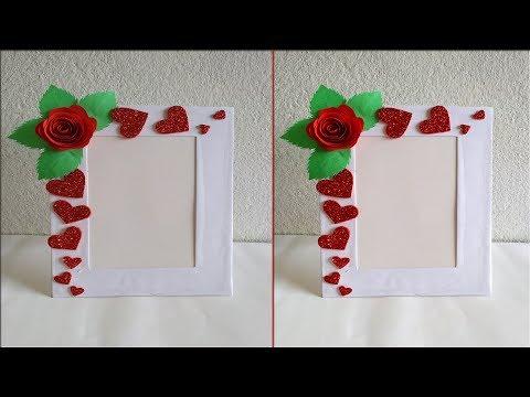 Handmade photo frame //DIY photo frame //DIY Paper craft