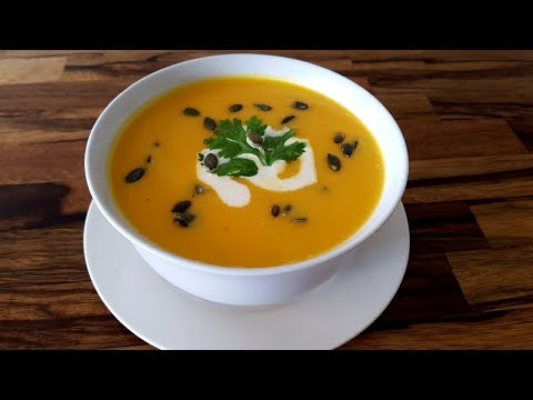 Pumpkin Soup Recipe | How to Make Creamy Pumpkin Soup
