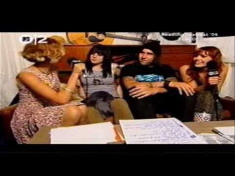 The Distillers - Reading Interview 2004