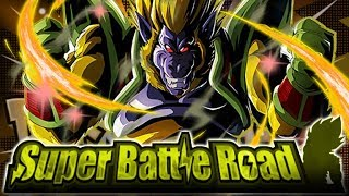 LR GOLDEN GREAT APE BABY DECIMATES CATEGORY SUPER BATTLE ROAD! (DBZ: Dokkan Battle)