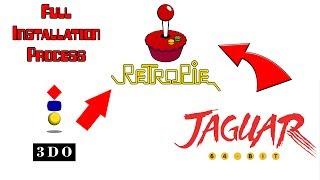 Retropie 4.2 - Installing 3DO and Jaguar - Subscriber Request(Kyle)