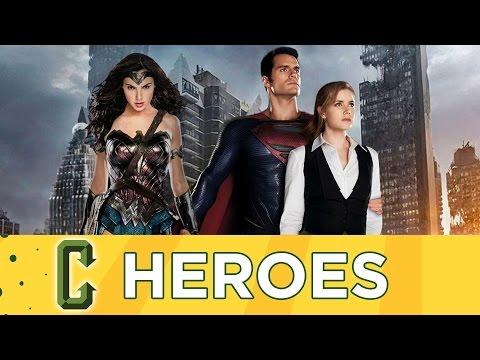 Collider Heroes -  Henry Cavill Talks Superman, Wonder Woman & Suicide Squad