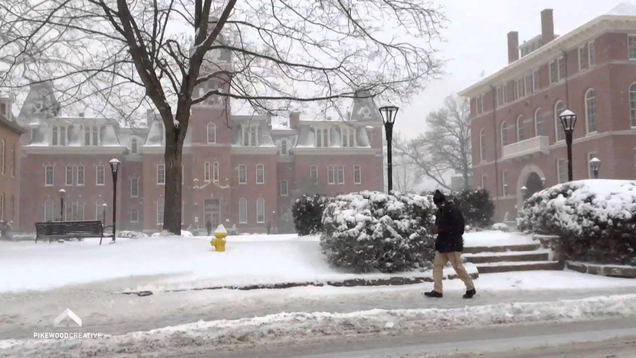 Morgantown, WV - Snowfall 1/21/14 - YouTube