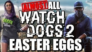 All Watch Dogs 2 Easter Eggs
