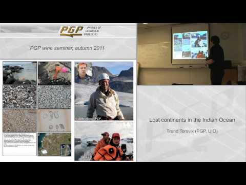 Lecture - Lost Continents in the Indian Ocean
