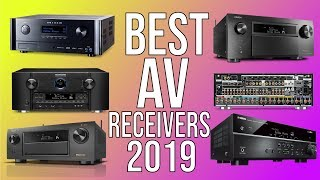 BEST AV RECEIVERS 2019 – TOP 10 BEST A/V RECEIVER 2019 | HOME THEATER