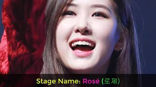 (Blackpink) ROSE lifestyle, house, boyfriend, biography
