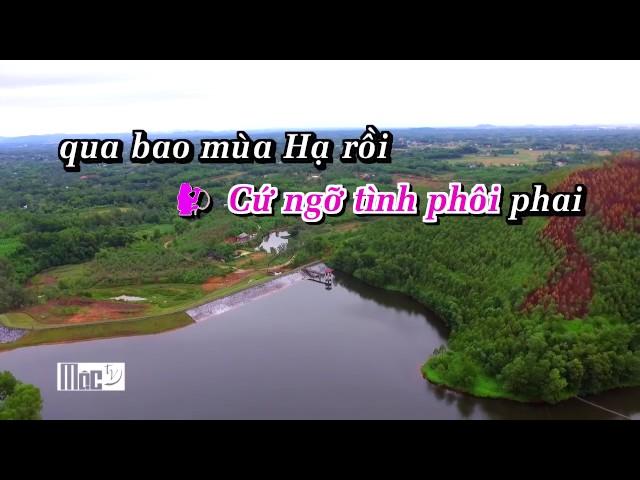 Karaoke   Cứ Ngỡ Tình Phôi Phai   Dương Hồng Loan ft Huỳnh Nguyễn Công Bằng