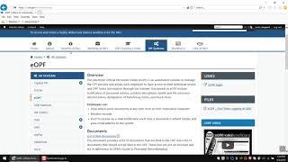 Hr website document update