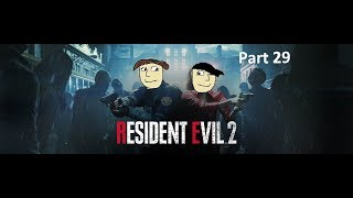 """Resident Evil 2 """"Rick Grimes MuthaF@cka"""" Part 29 - The CO-OPerators"""