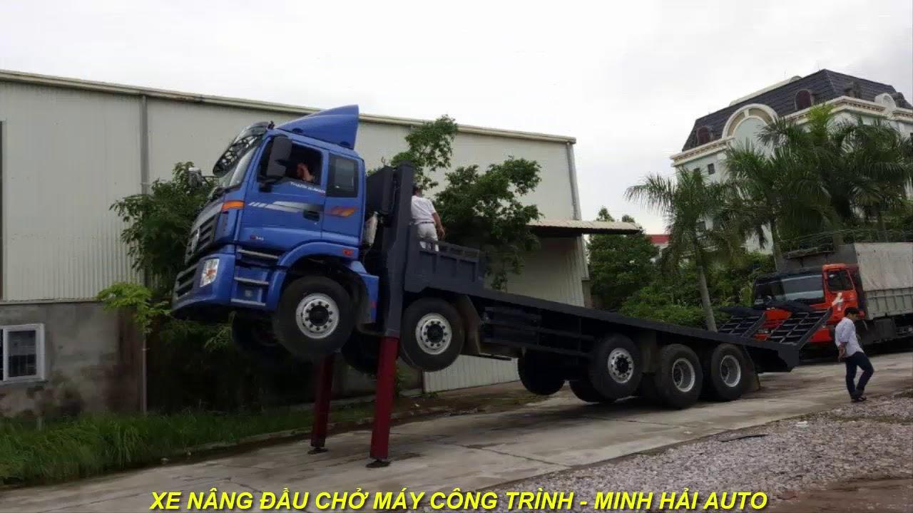 Xe Nâng Đầu Chở Máy Công Trình | Minh Hải Auto