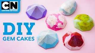 How To Make Steven Universe Mini Gem Cakes | Let's Build