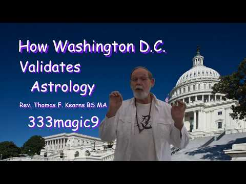 How Washington DC Validates Astrology and Other Current Events