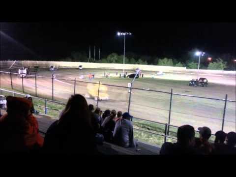 Creek County Speedway 5/9/14 - ASCS Sprints A Main