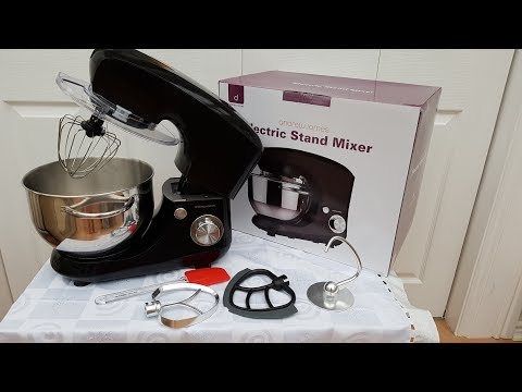 Unboxing my new Andrew James Stand mixer!