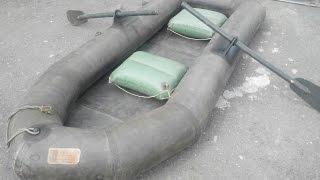 Лодка ЛГН-2У 1968 :))Обзор-раскладка